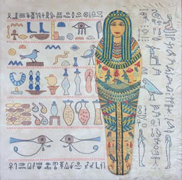 One of Jane's pieces - Egyptian Splendour